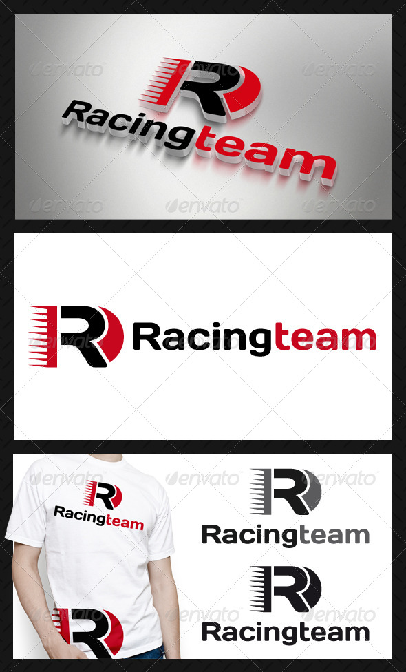 GraphicRiver Racing Team Logo Template 4207717