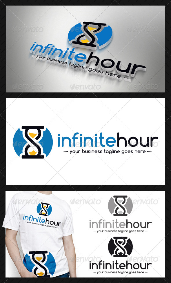 GraphicRiver Infinite Hourglass Logo Template 4208207