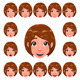Girl Expressions with Lip Sync.  - GraphicRiver Item for Sale