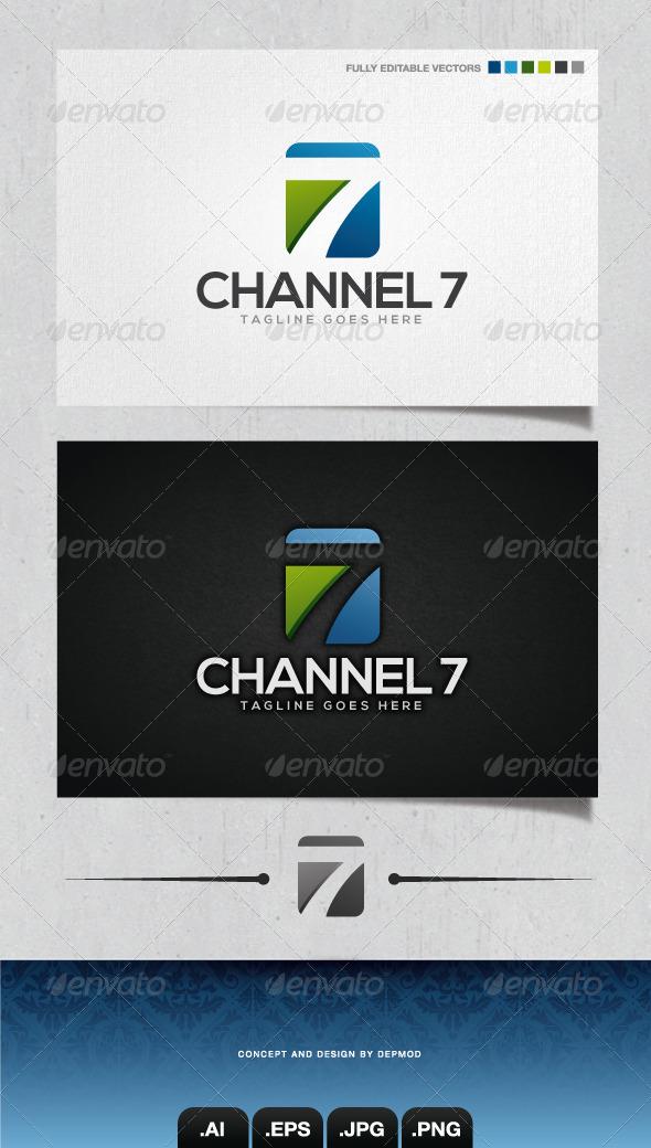 GraphicRiver Channel 7 Logo 4209836