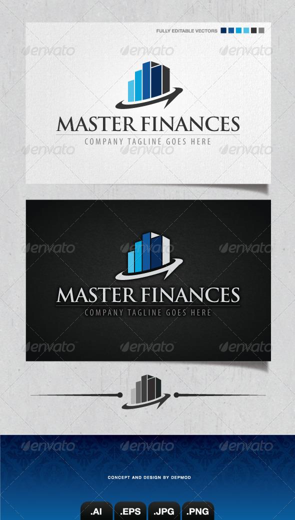 GraphicRiver Master Finances Logo 4210892