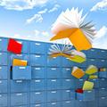 flying files - PhotoDune Item for Sale