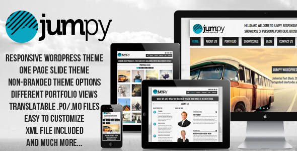 JUMPY - Powerful Professional Responsive Wordpress