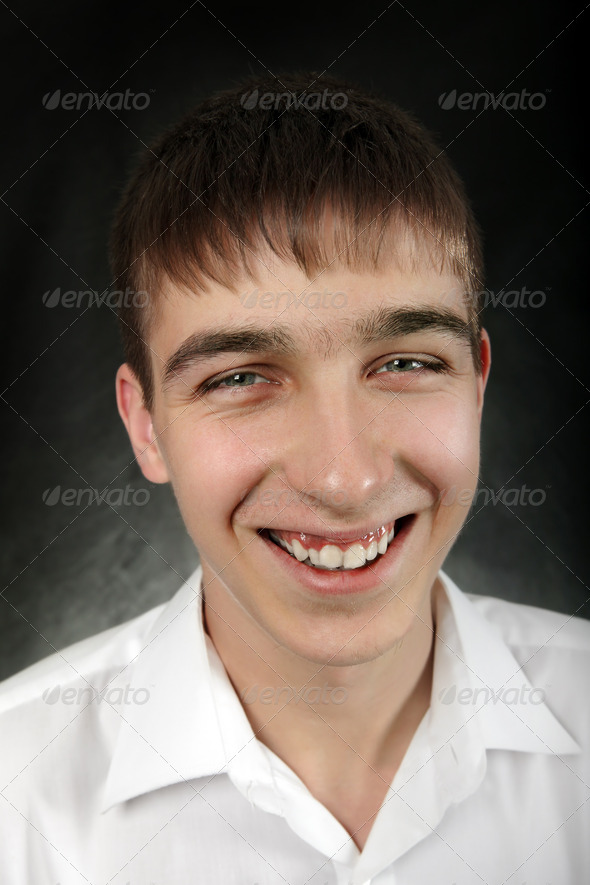PhotoDune Happy Young Man Portrait 4212537