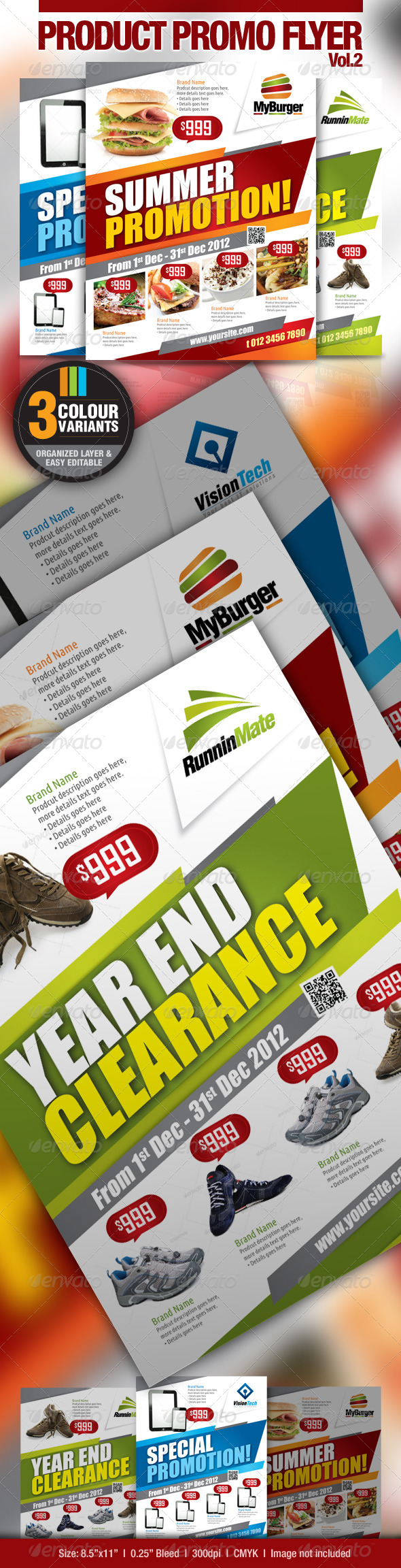 Multi-Purpose Product Promotion Flyer - Commerce Flyers