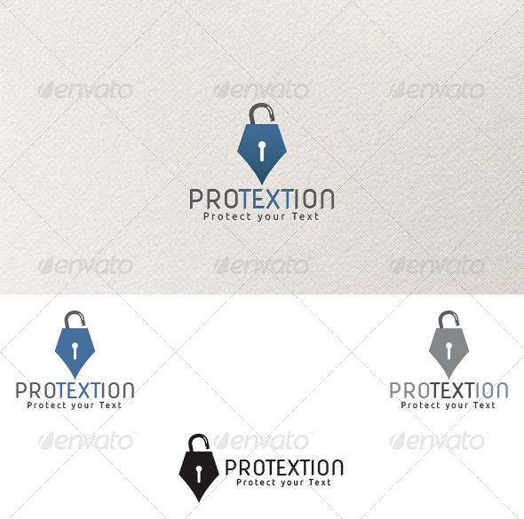 Protextion Logo Template