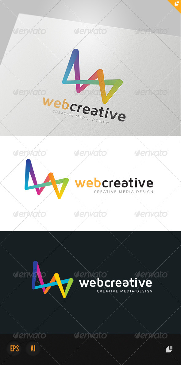 GraphicRiver Web Creative Media Design Logo 4213444