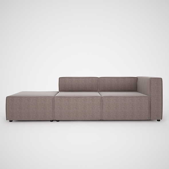 Modern Sofa-BoConcept - 3DOcean Item for Sale