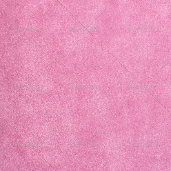 Pink suede - Stock Photo - Images
