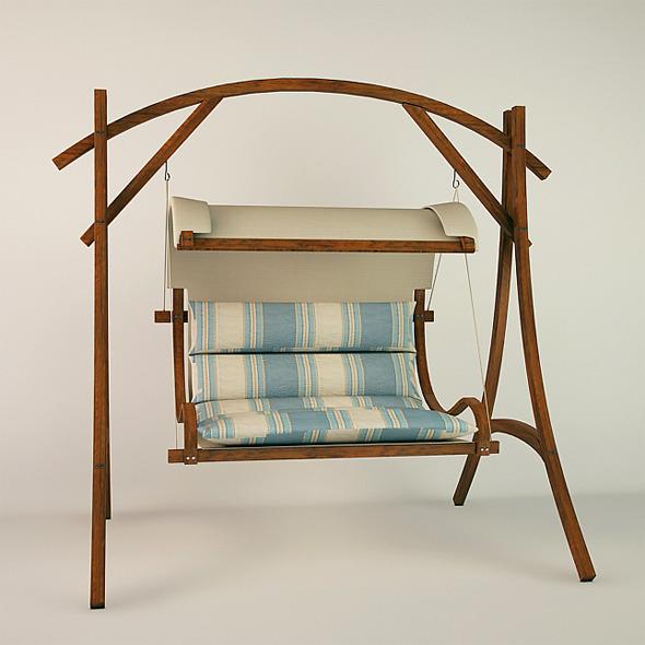 Oval Swing - 3DOcean Item for Sale