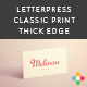5 Business Card Mock Up -2- Two Print Styles - GraphicRiver Item for Sale