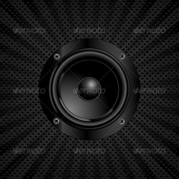 GraphicRiver Sound Speaker 4215037