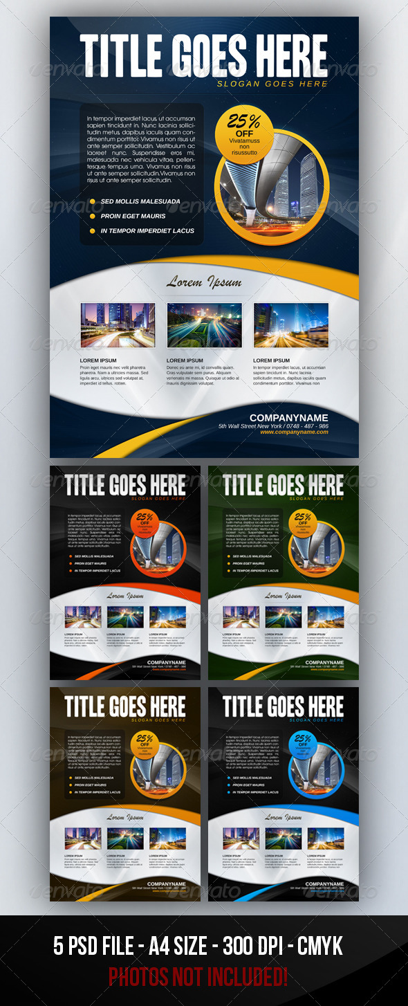 GraphicRiver Corporate Business Flyer 3172994