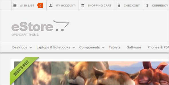 eStore - OpenCart Theme