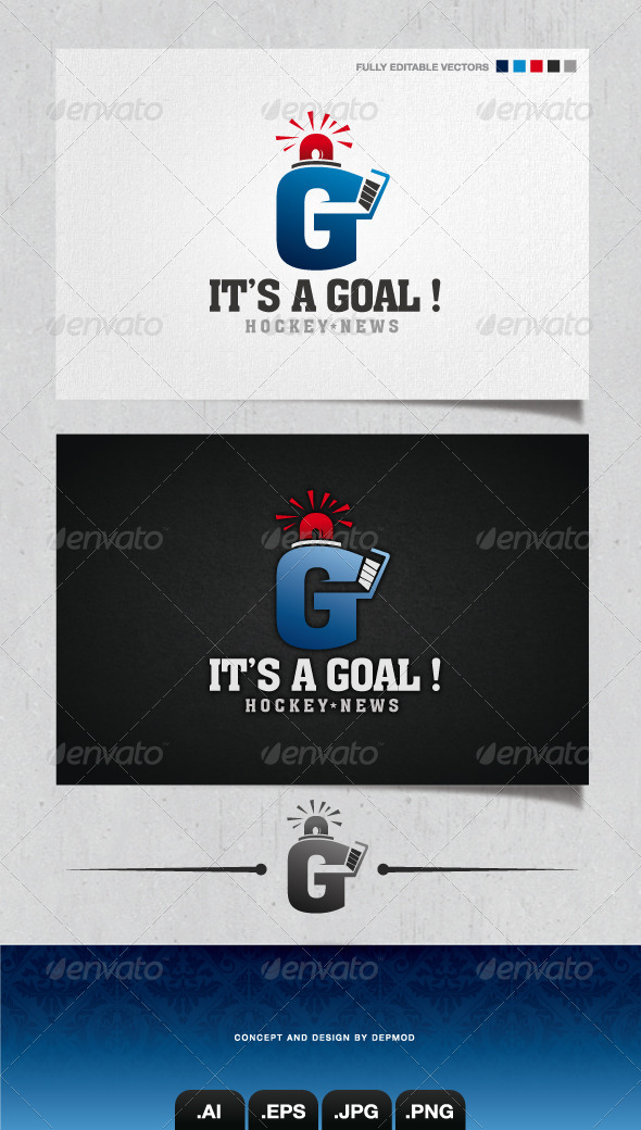 GraphicRiver It s A Goal Logo 4124017