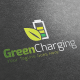 Green Charging Logo Template - GraphicRiver Item for Sale