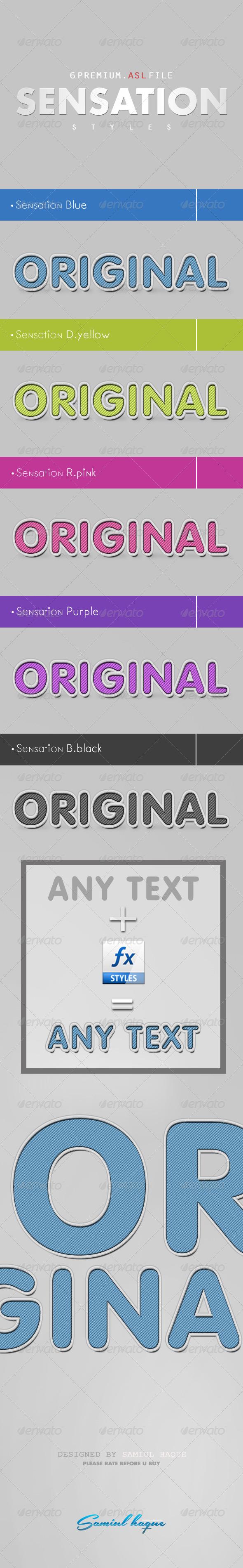 GraphicRiver 5 Sensation Styles Editable 4218747