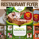 Restaurant Flyer Vol.3 - GraphicRiver Item for Sale