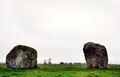 Two rhyolite boulders of Long Meg Stone Circle - PhotoDune Item for Sale