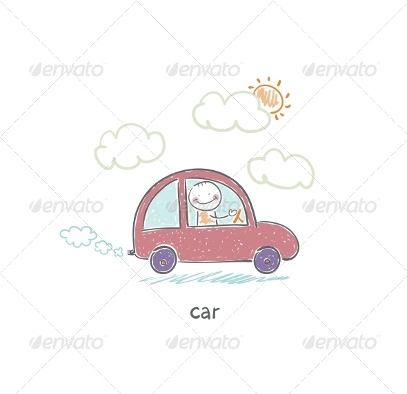 GraphicRiver Eco Car 4220087