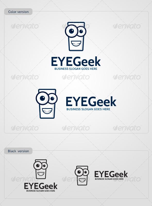 EYEGeek Logo Template - Abstract Logo Templates