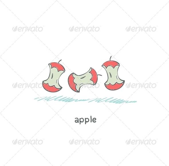 GraphicRiver Apple Core 4220107