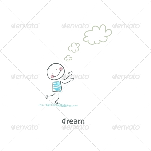 GraphicRiver Dreamer Illustration 4220191