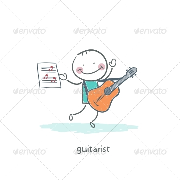 GraphicRiver Gitarist 4220382