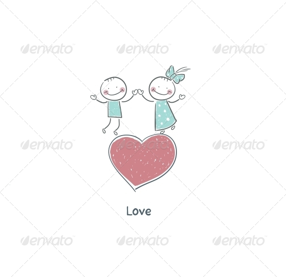 GraphicRiver Couple in Love 4220513