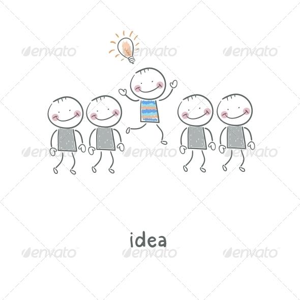 GraphicRiver Idea Illustration 4220514