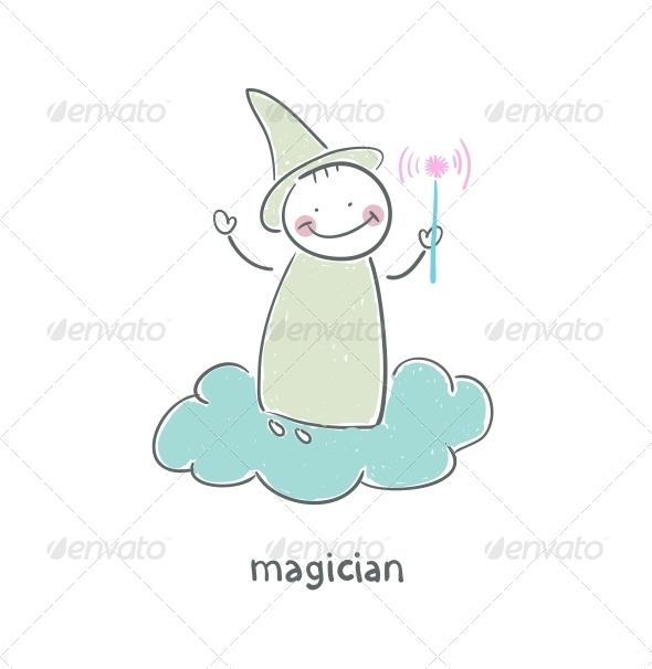 GraphicRiver Magician 4220544