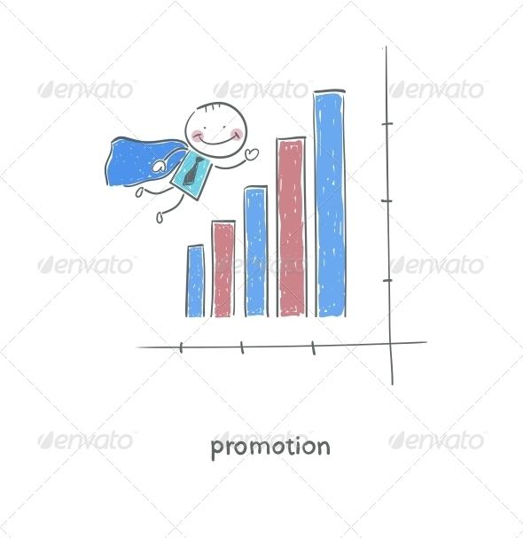 GraphicRiver Super Businessman Illustration 4220712