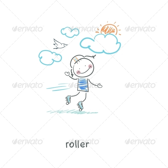 GraphicRiver Roller 4220731