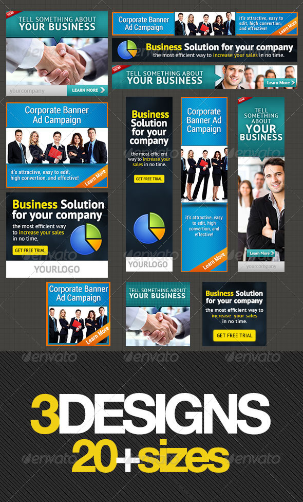 GraphicRiver Corporate Banner Set Bundle 1.0 4220798