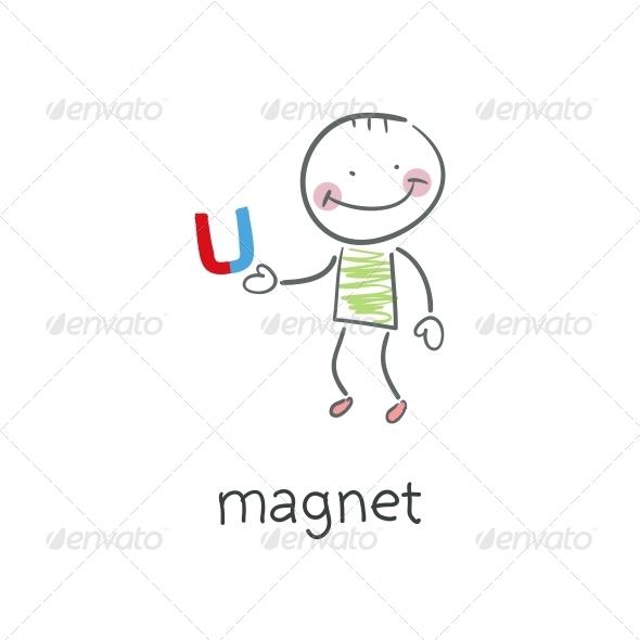 GraphicRiver Magnet Illustration 4220801