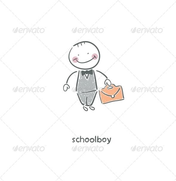 GraphicRiver Schoolboy 4220806