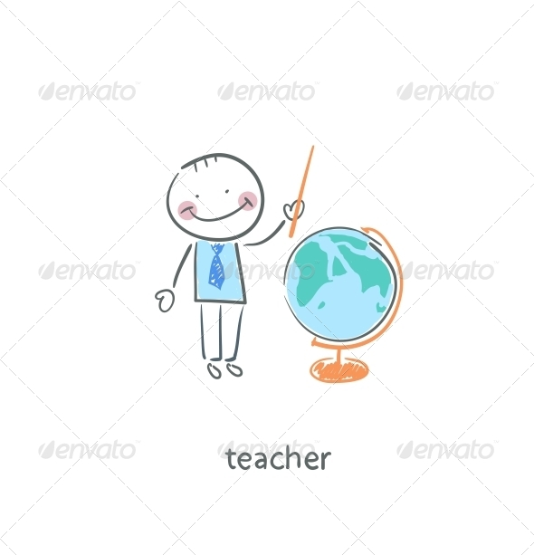 GraphicRiver Teacher 4220815