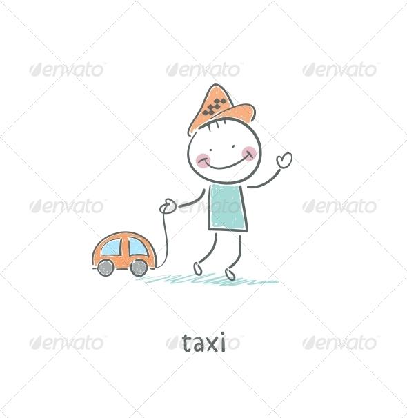 GraphicRiver Taxi Driver 4220825