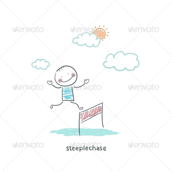 GraphicRiver Steeplechase 4220838