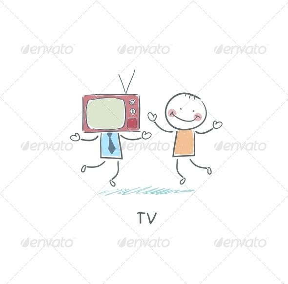 GraphicRiver TV Friend 4220846