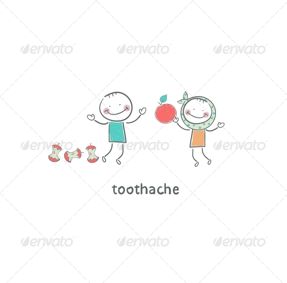 GraphicRiver Toothache Illustration 4220977