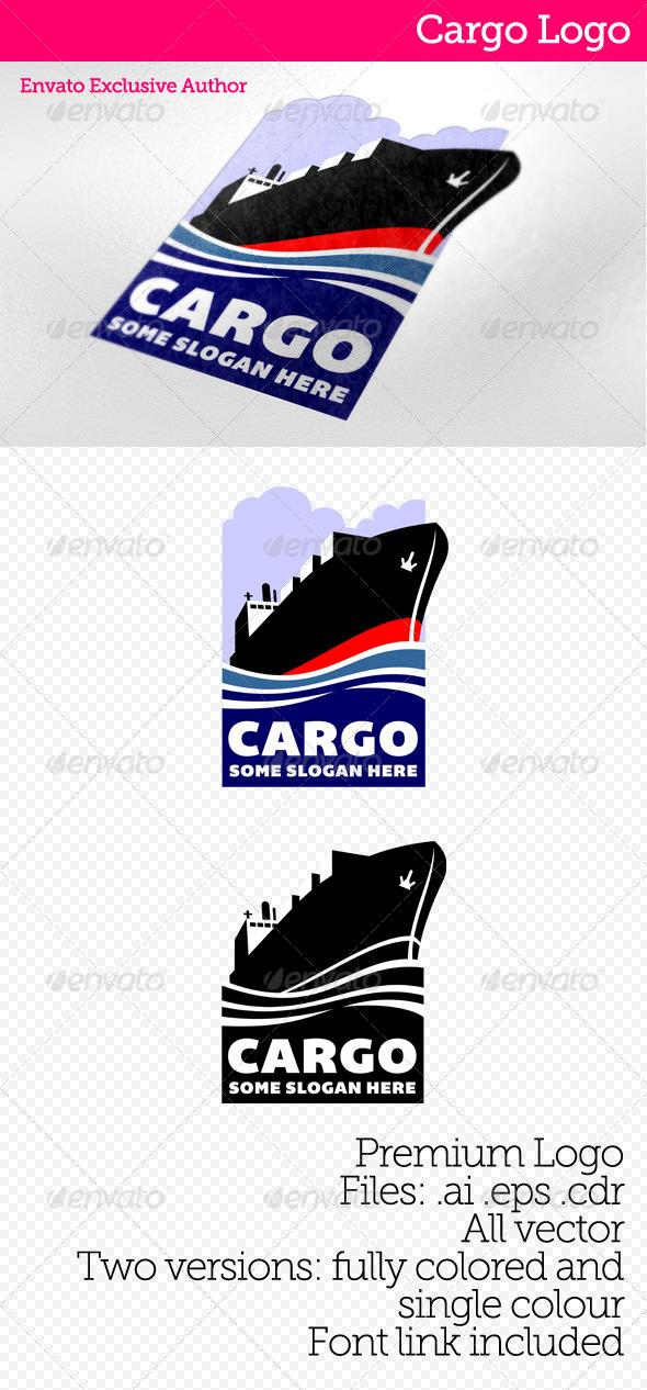 GraphicRiver Cargo Logo 4126689