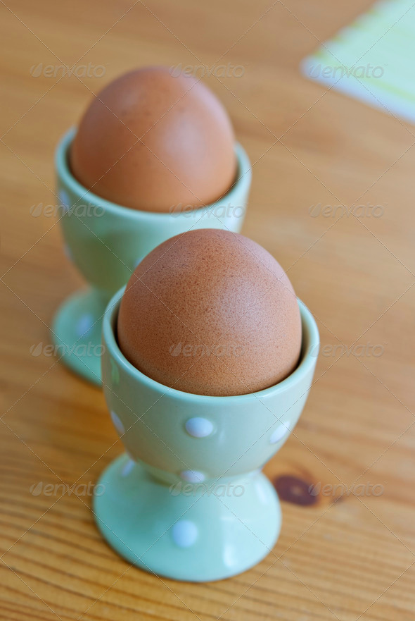 Breakfast Eggs - Stock Photo - Images