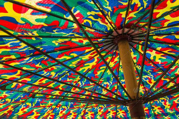 PhotoDune Colorful umbrella 4221816