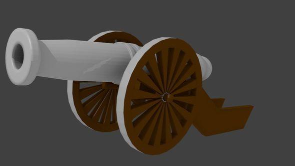 3DOcean Cannon 4215009