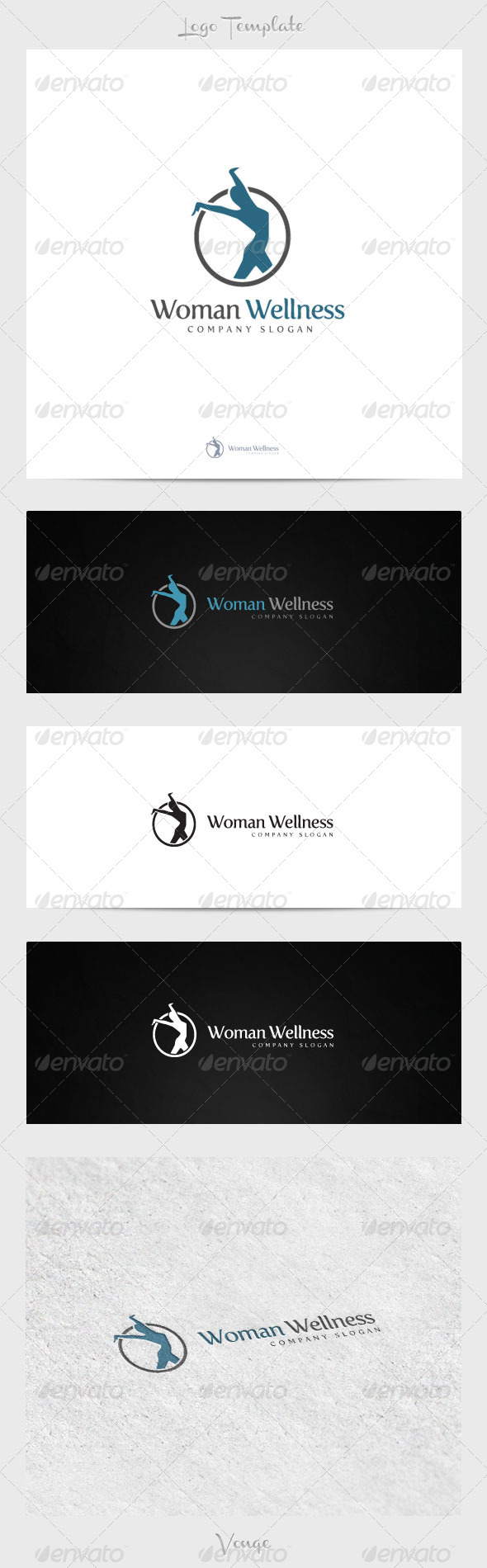 GraphicRiver Woman Wellness 4222926