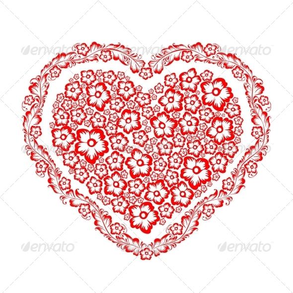 GraphicRiver Decorative Heart 4223968