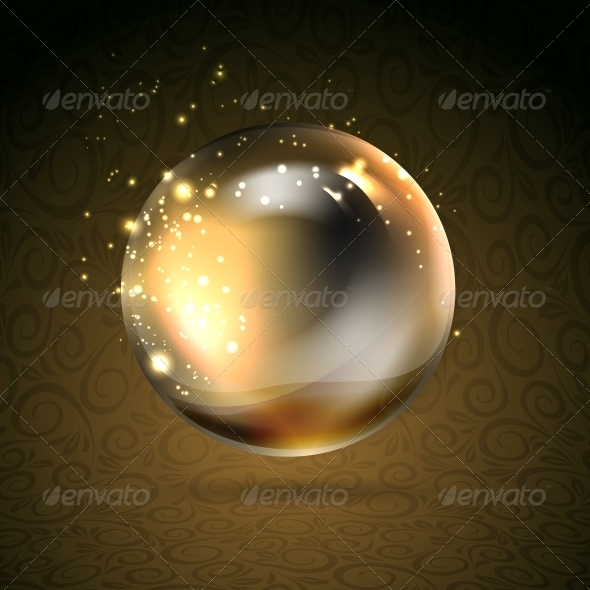GraphicRiver Golden Shiny Perl 4223987