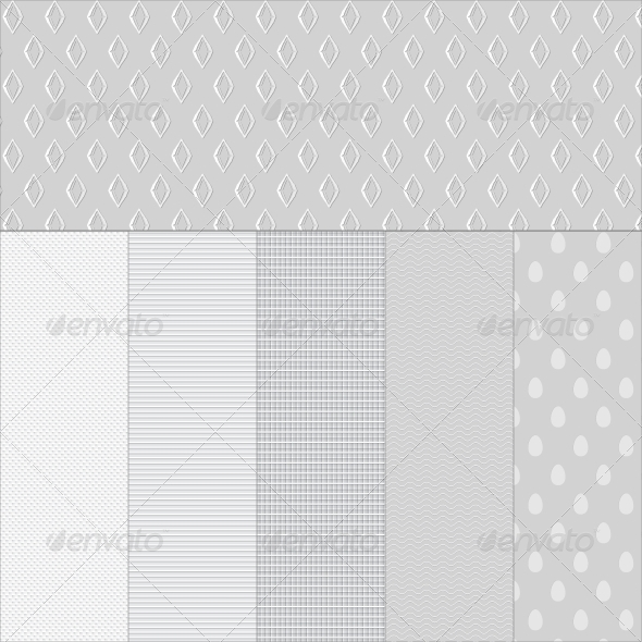 GraphicRiver Set White Paper Textured Backgrounds 4223989