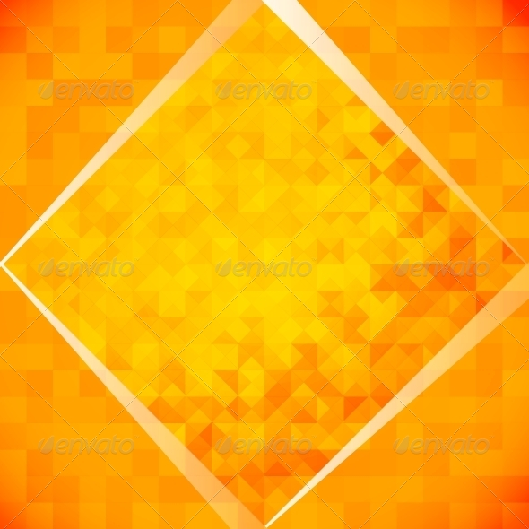GraphicRiver Orange Mosaic Tiles 4224088